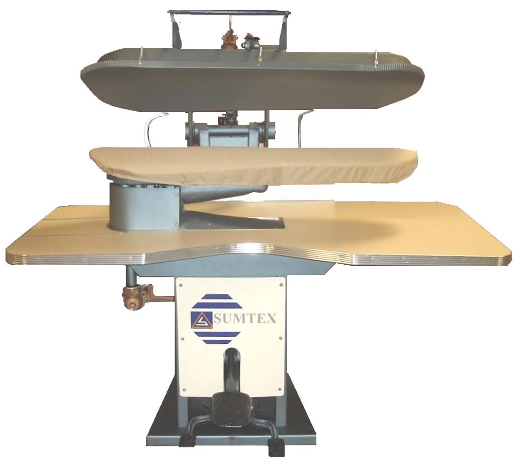 Plancha industrial tipo prensa sumtex for Plancha industrial